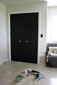 DIY Closet Door Update: Turn Plain Doors into a Giant ...