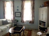 Grey Living Room Before and After: How to Love Your Ugly ...