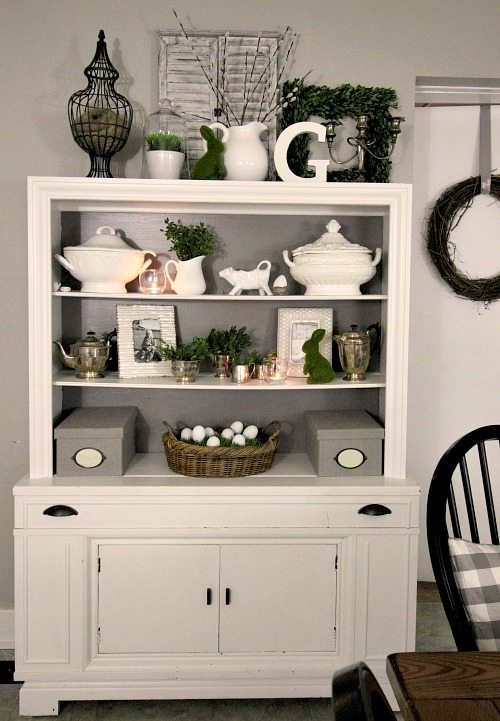 Easter Home Tour 2016  The Creek Line House