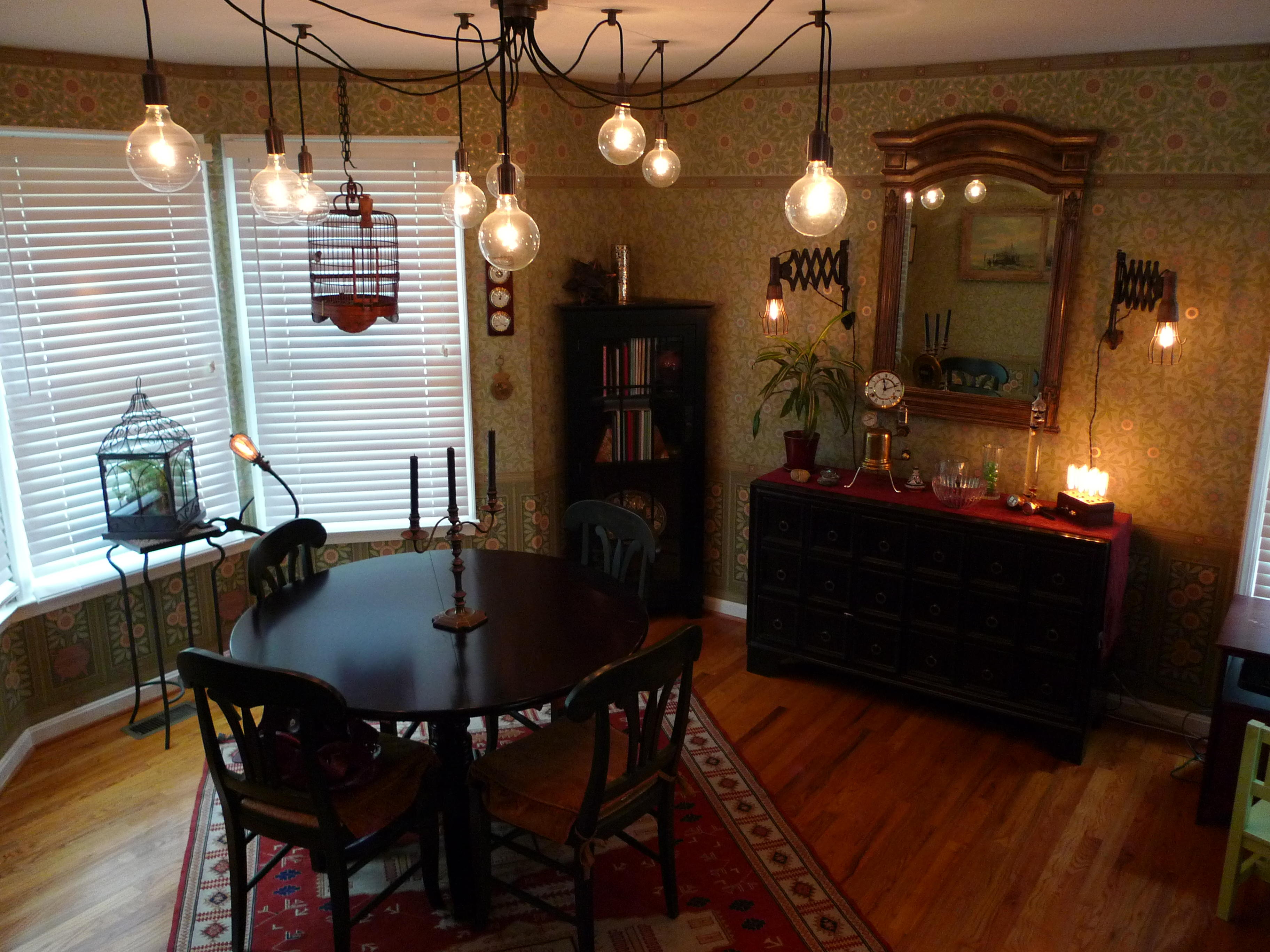 Designing our steampunk dining room – It\'s a creekmore world