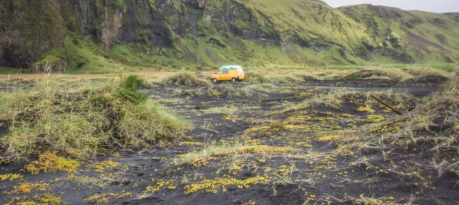 Iceland Day 2: Stuck, a Truck, a Black Beach and a White Glacier