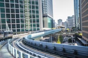 Tokyo Monorail headed to Odaiba