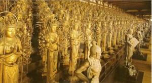 Thousand statues, Sanjusangendo shrine