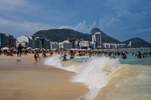 Copacabana Beach, Rio 2015