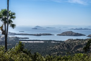 The view from the top of Komodo...