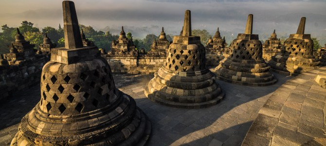 Indonesia Day 16:  The largest temple, Borobudur and Ramayana, an epic poem