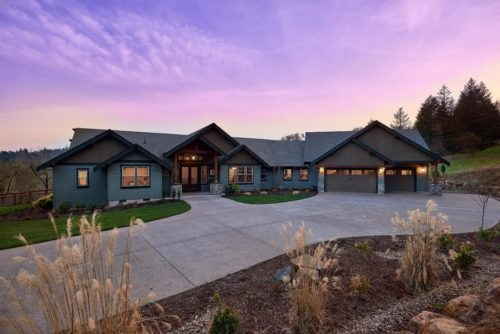 Custom Home Photo Gallery-Exteriors