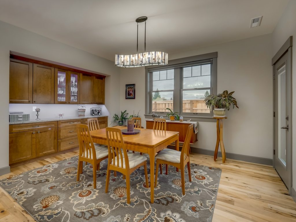 Transitional craftsman ranch home