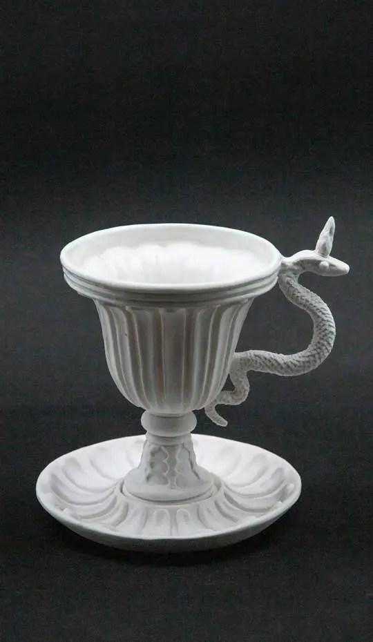 white serpent chalice