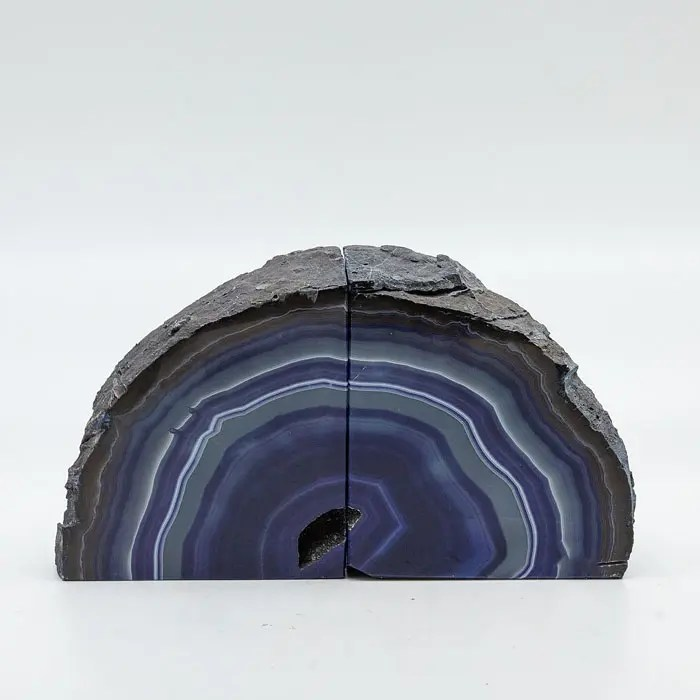purple-bookends