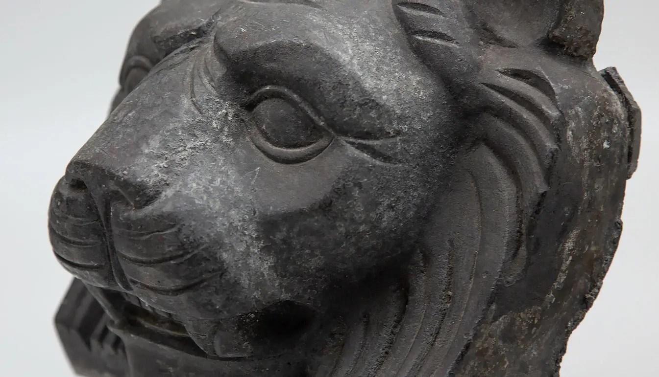 wrought-iron-lion-head