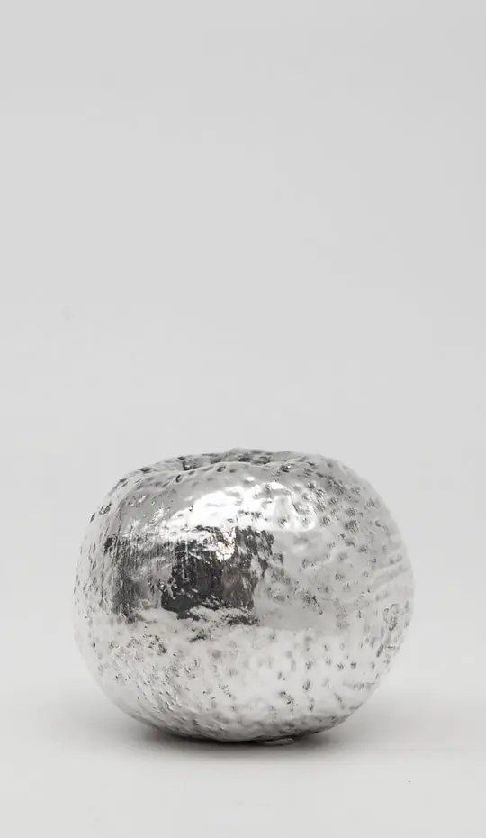 tangerine-silver-resin