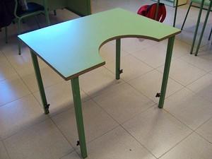 Mobiliario escolar adaptado