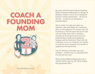 The Founding Moms One Page Ad