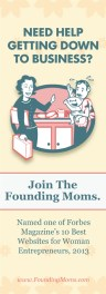 The Founding Moms Quarter Page Ad