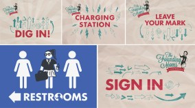 The Founding Moms Conference Signage