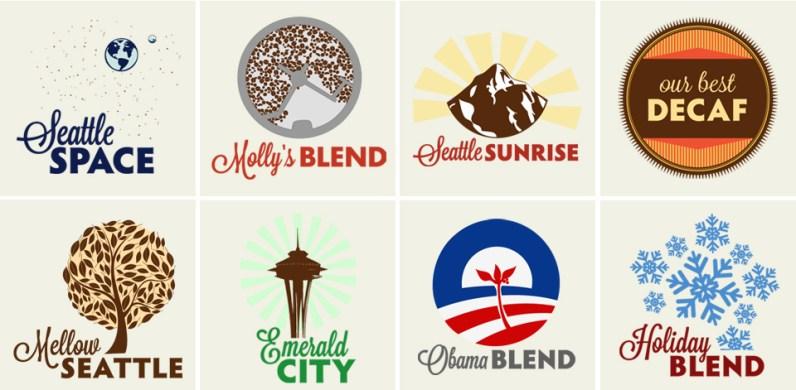 Seattle Coffee Works Blend Icons