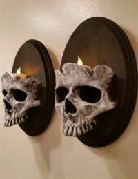 Skull Wall Sconces