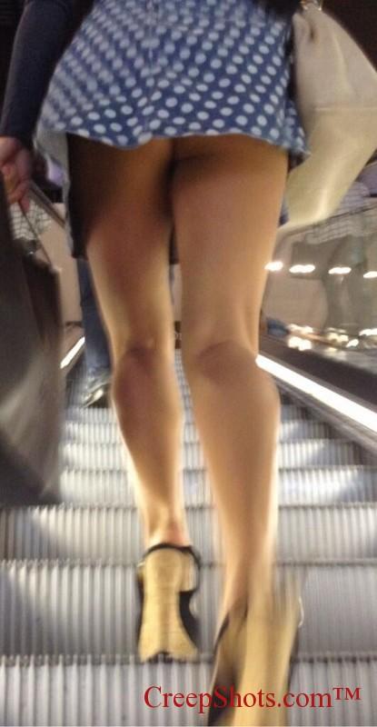 under skirt shots