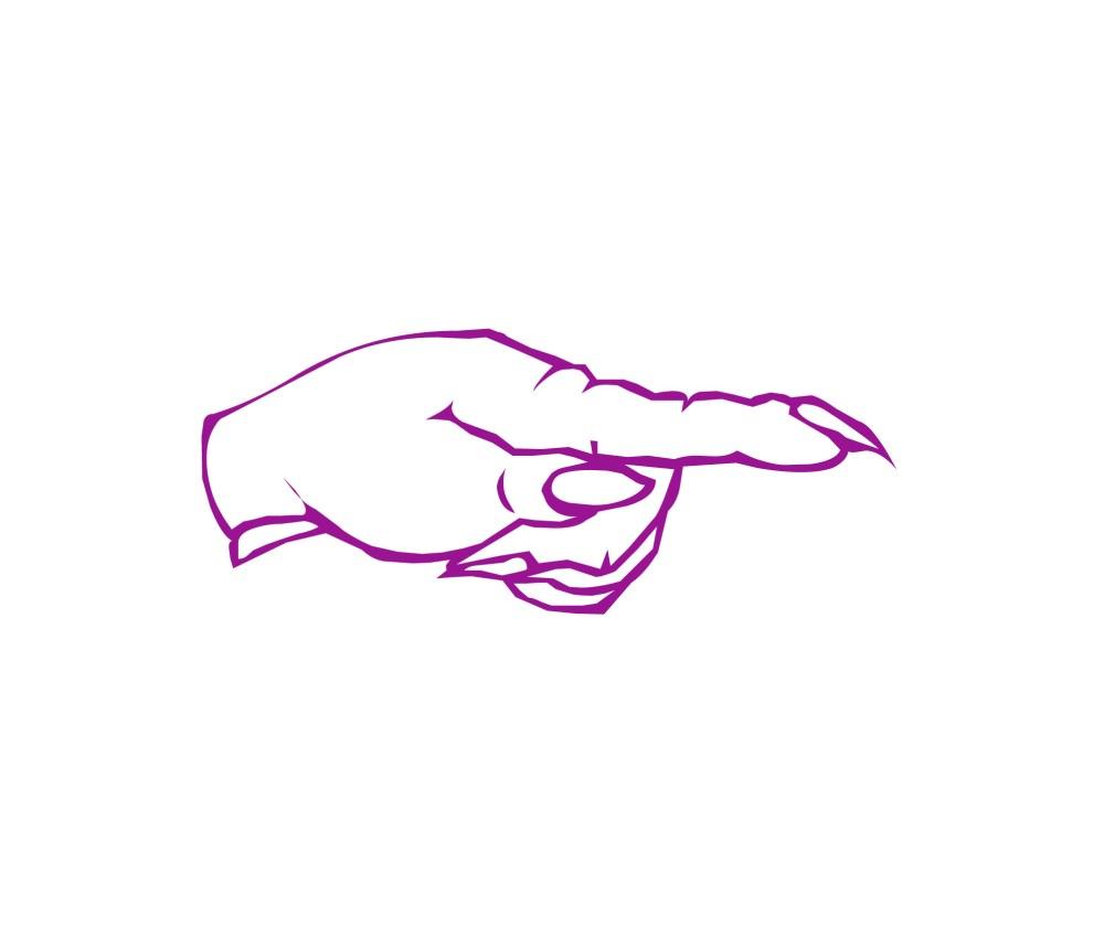 medium resolution of pointing halloween finger