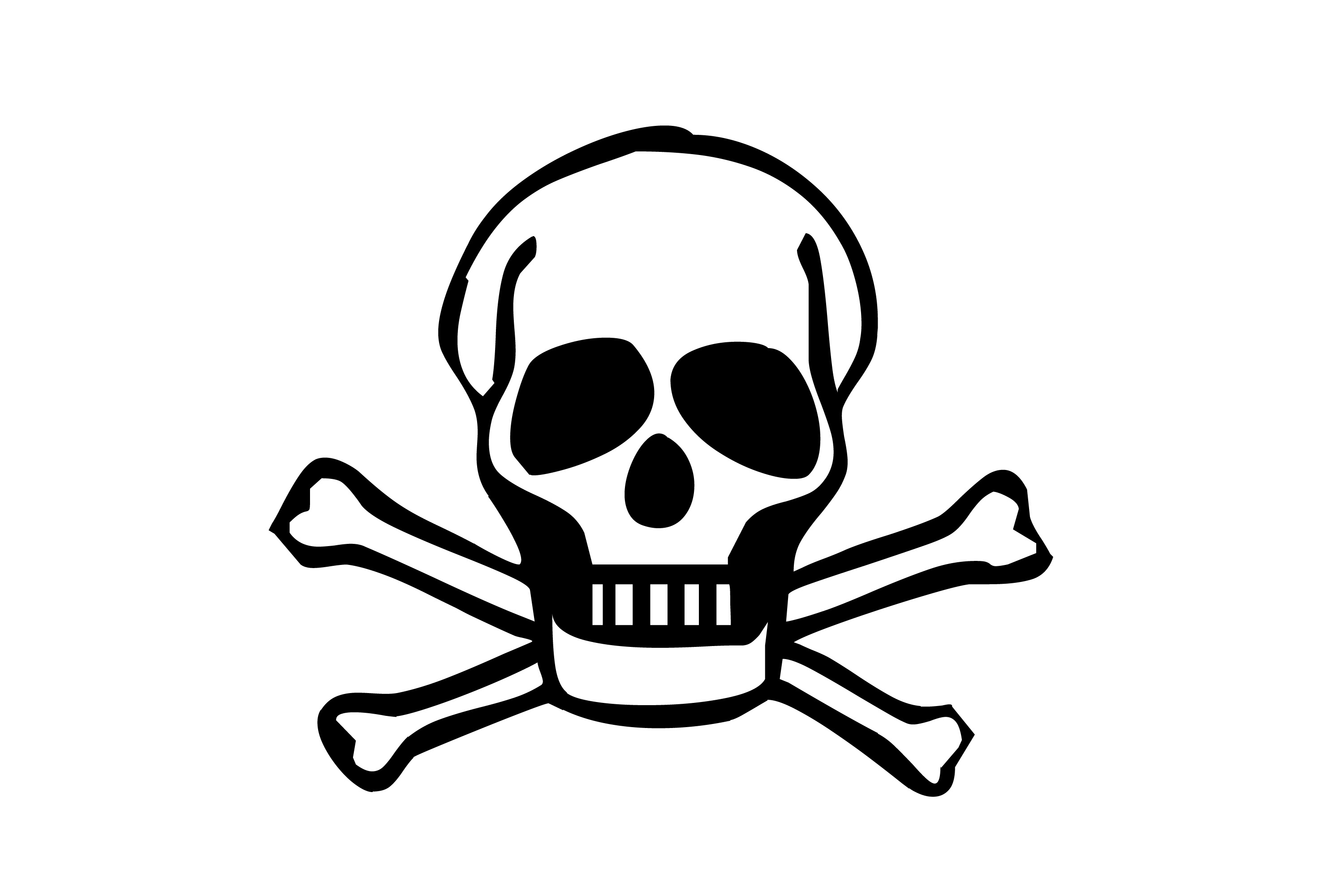 Image Of Skull And Bones
