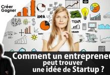 entrepreneur idée startup