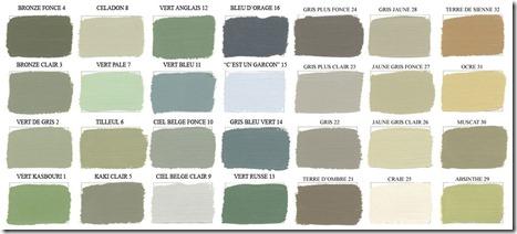 Les couleurs kaki pour l indentité visuelle du blog