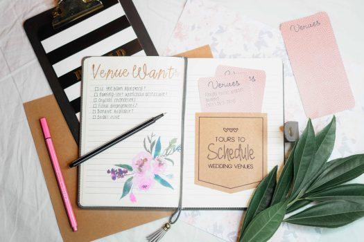 organisation couture : la liste avec cases à cocher