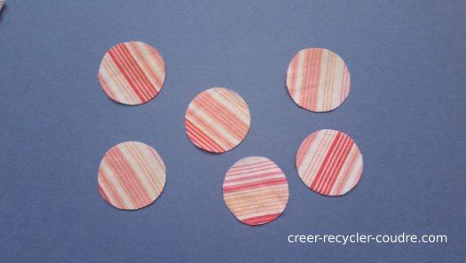 Couper 6 cercles