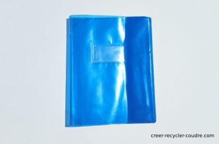 Protège cahier usagé
