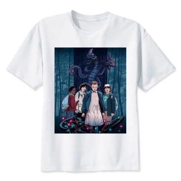Tee shirt Stranger Things 4