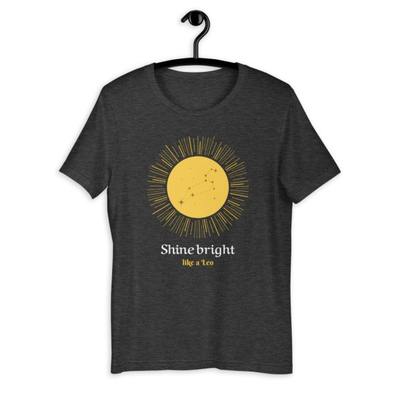 T-shirt Shine bright like a leo  Créer Son T Shirt