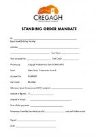 Standing Order Malawi