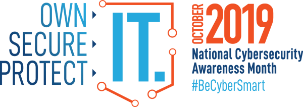 NCIASM National Cybersecurity Month 2019 Logo