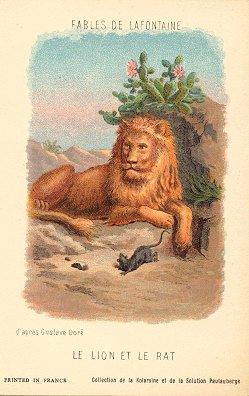 Fable De La Fontaine Le Lion Et Le Rat : fable, fontaine, Creighton, University, Aesop's, Fables:, Solution, Pautauberge