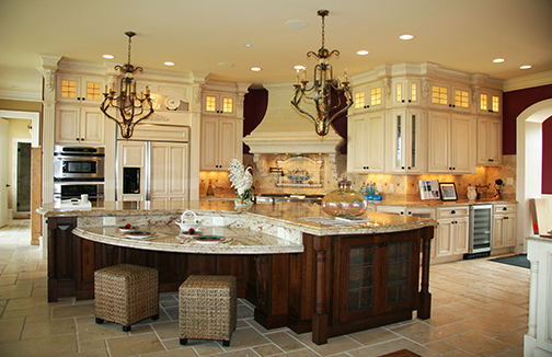 Luxury Home For A Builder Kitchen