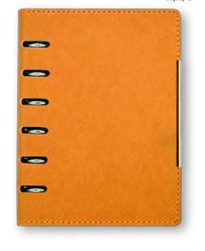 organizer A6 Alicante orange