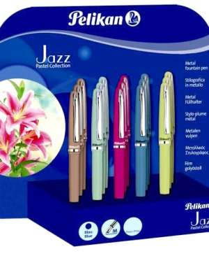 stilou metalic jazz pelikan pastel collection