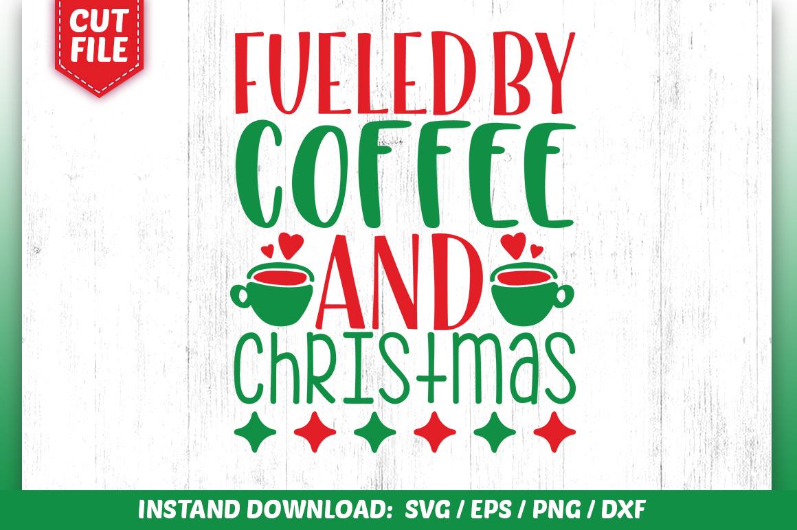 32 Christmas Coffee Svg