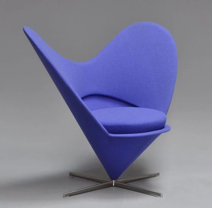 Heart Cone chair is a designer lounge chair available in SA