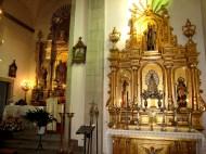 12 agosto 2008 Altar de la Virgen de Luján, patrona de Argentina