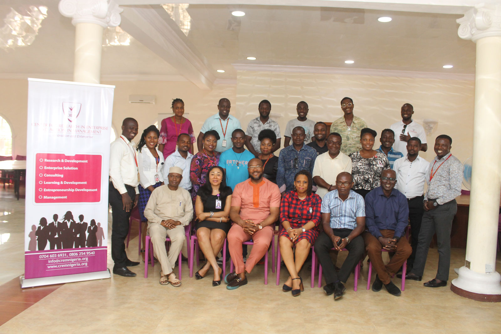Pictures From Agric Business Management Training