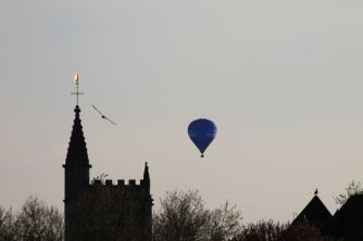 Balloons over Castle Park, Bristol