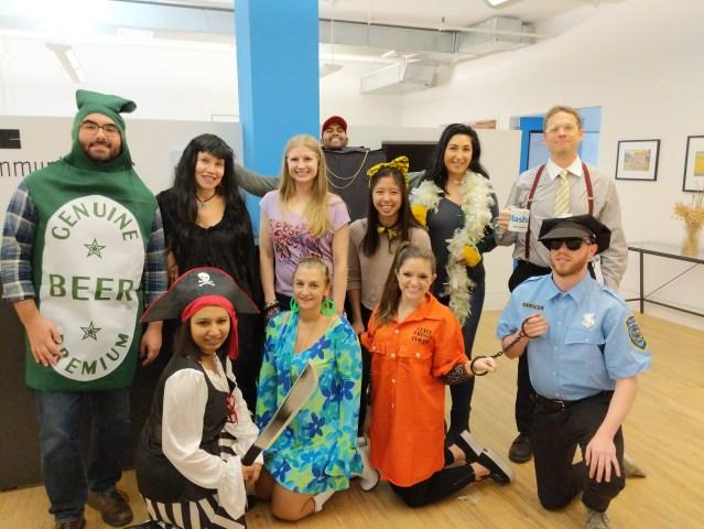halloween 2018 crenshaw communications staff