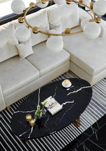 Projekt Salonu z sofą MWM MEBLE