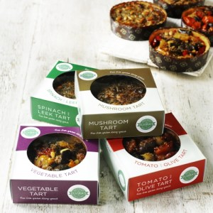 Handcrafted Quiche Selection | Box of 4 (Gluten & Dairy Free) - Tarts Box copy 500x500