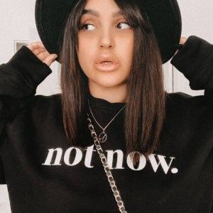 Not Now Sweater (black)