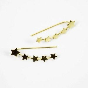 Stars Gold Climb Earrings - 186883 47cd00e6e0d9cc 500x500