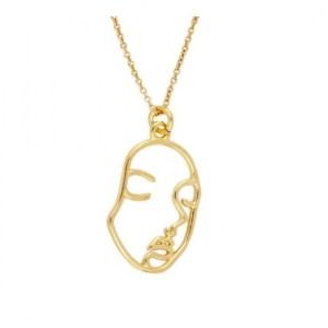 Collar Face Lines Gold - 186904 47cd00e6e0f6b7 500x500