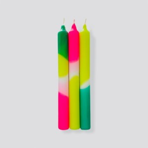 Dip Dye Neon * Green Splash case size of 6